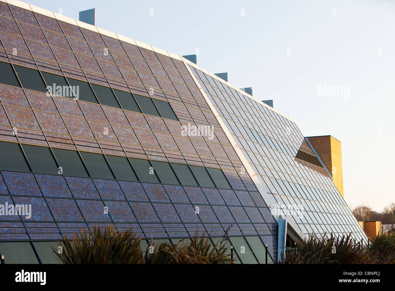 The Solar office on the Doxford International Business Park on the outskirts of Sunderland, North East, UK. Th - Stock Image