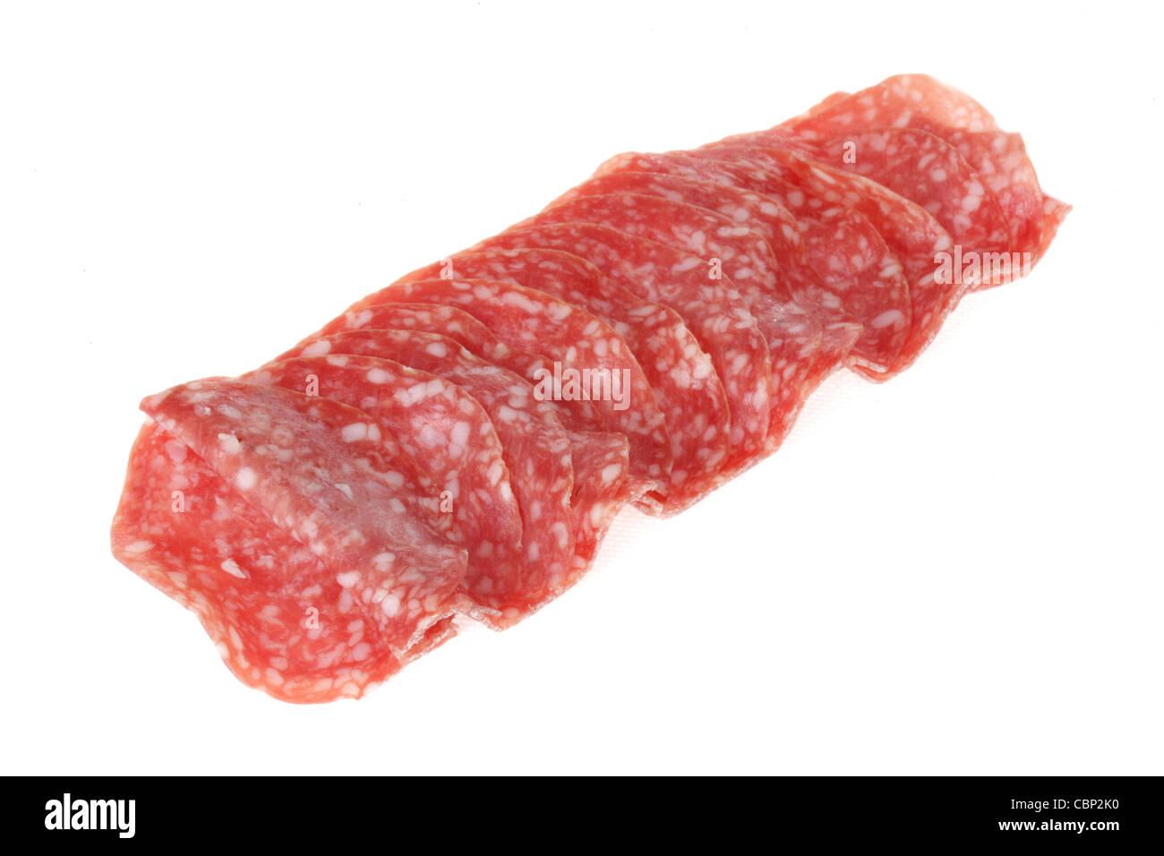 Salami - Stock Image