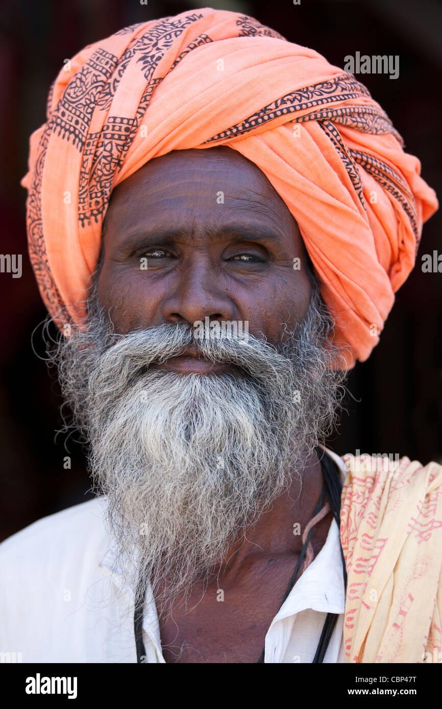 Indian Man Wearing Turban Stock Photos & Indian Man Wearing