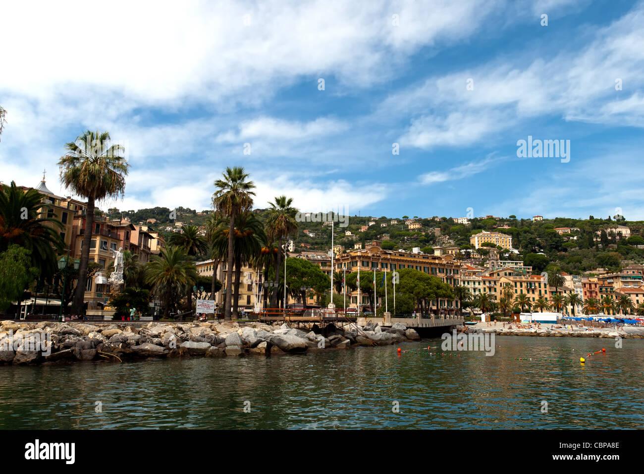 Santa Margherita Ligure Stock Photo