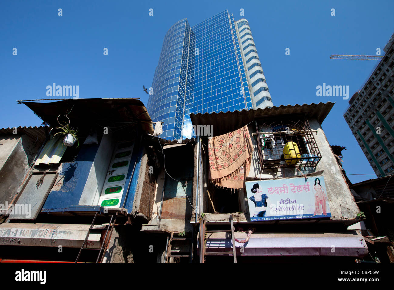 Essar House office development for Essar Group by slums in