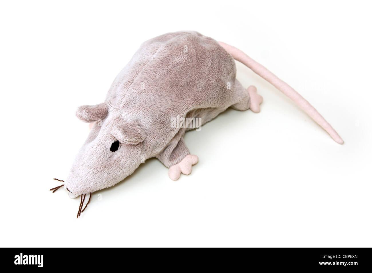 Toy rat - Stock Image