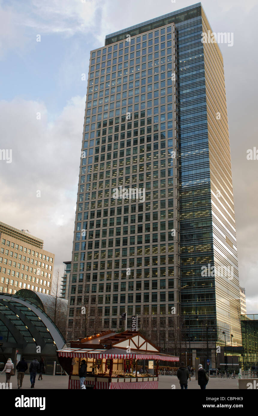 40 Bank Street Canary Wharf, West India Docks, Isle of Dogs Stock