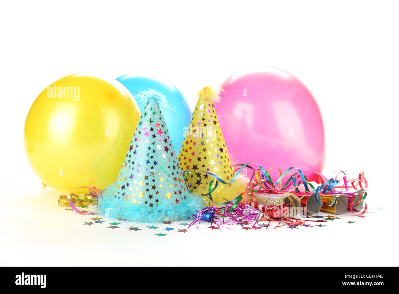 New Year's Party Decoration - Stock Image