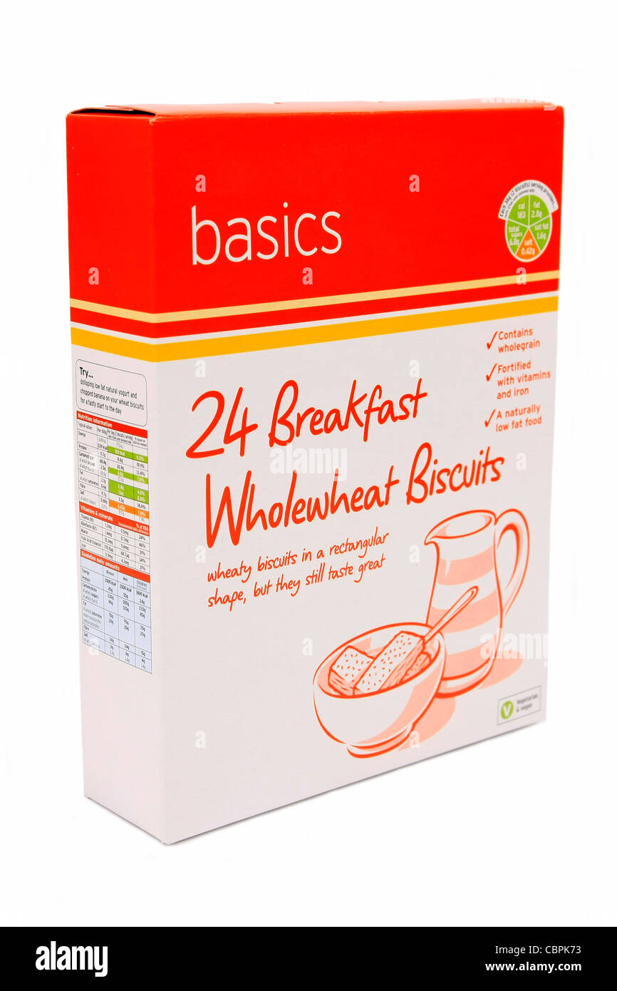 Cheap Basic breakfast cereal on offer at a supermarket for families on low incomes - Stock Image