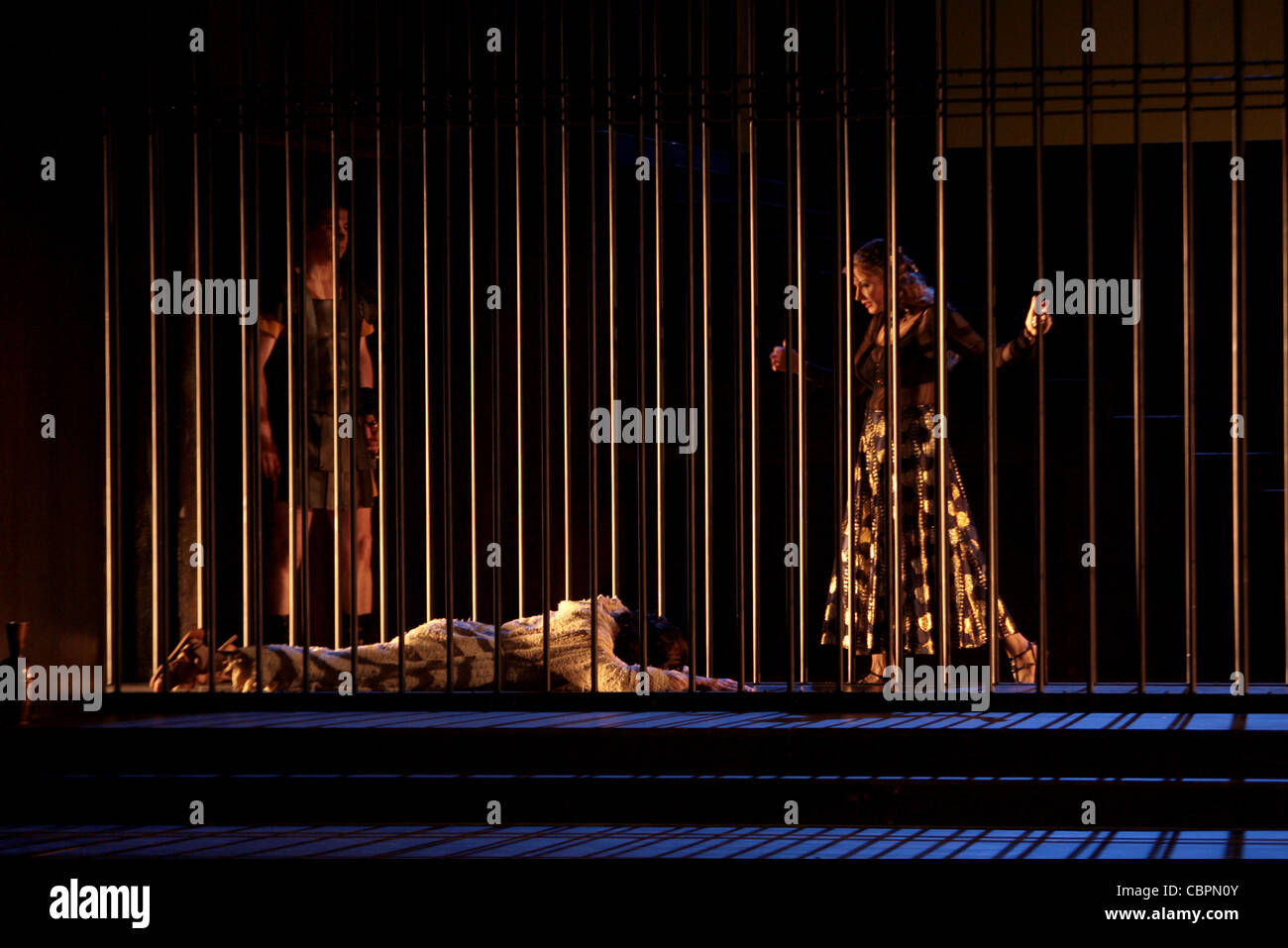 SALOME, SALOME - lyrical drama in 1 act - Music by Richard STRAUSS -from the Oscar WILDE novel - Musical direction Stock Photo
