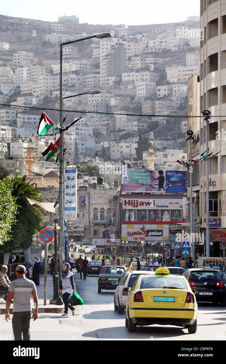 Nablus, Palestine, West Bank - Stock Image