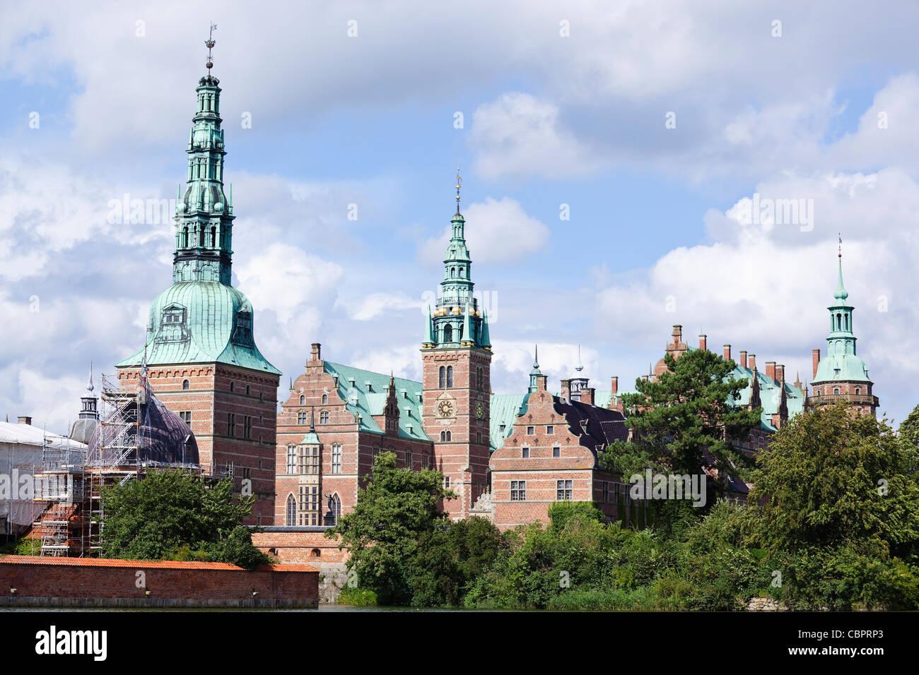 hillerod, denmark: frederiksborg castle - Stock Image