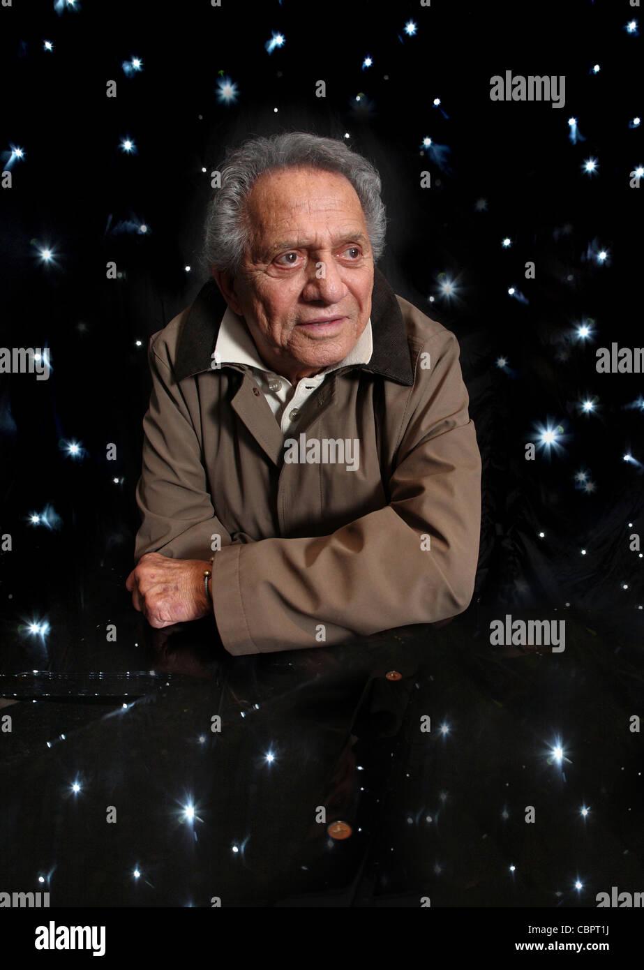 Buddy Greco Us singer - Stock Image