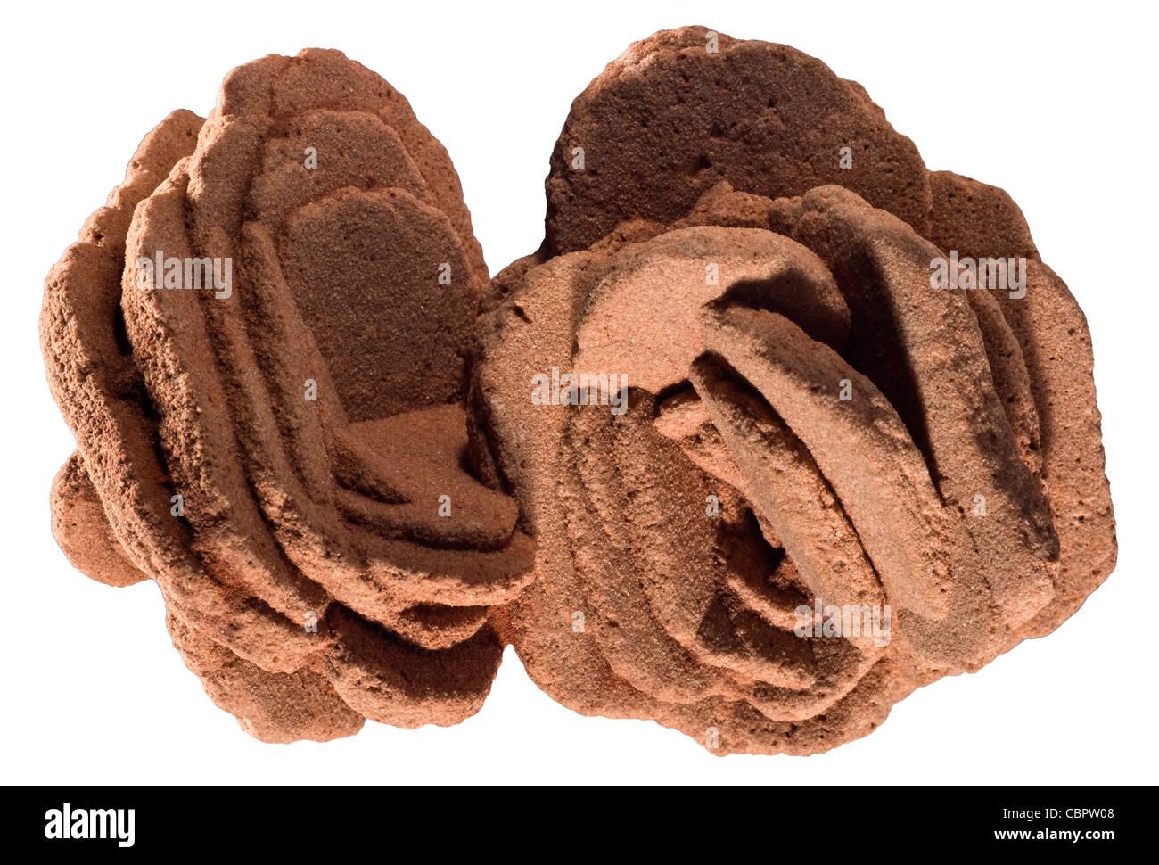 Barite 'Desert Rose' Norman, Oklahoma - Stock Image