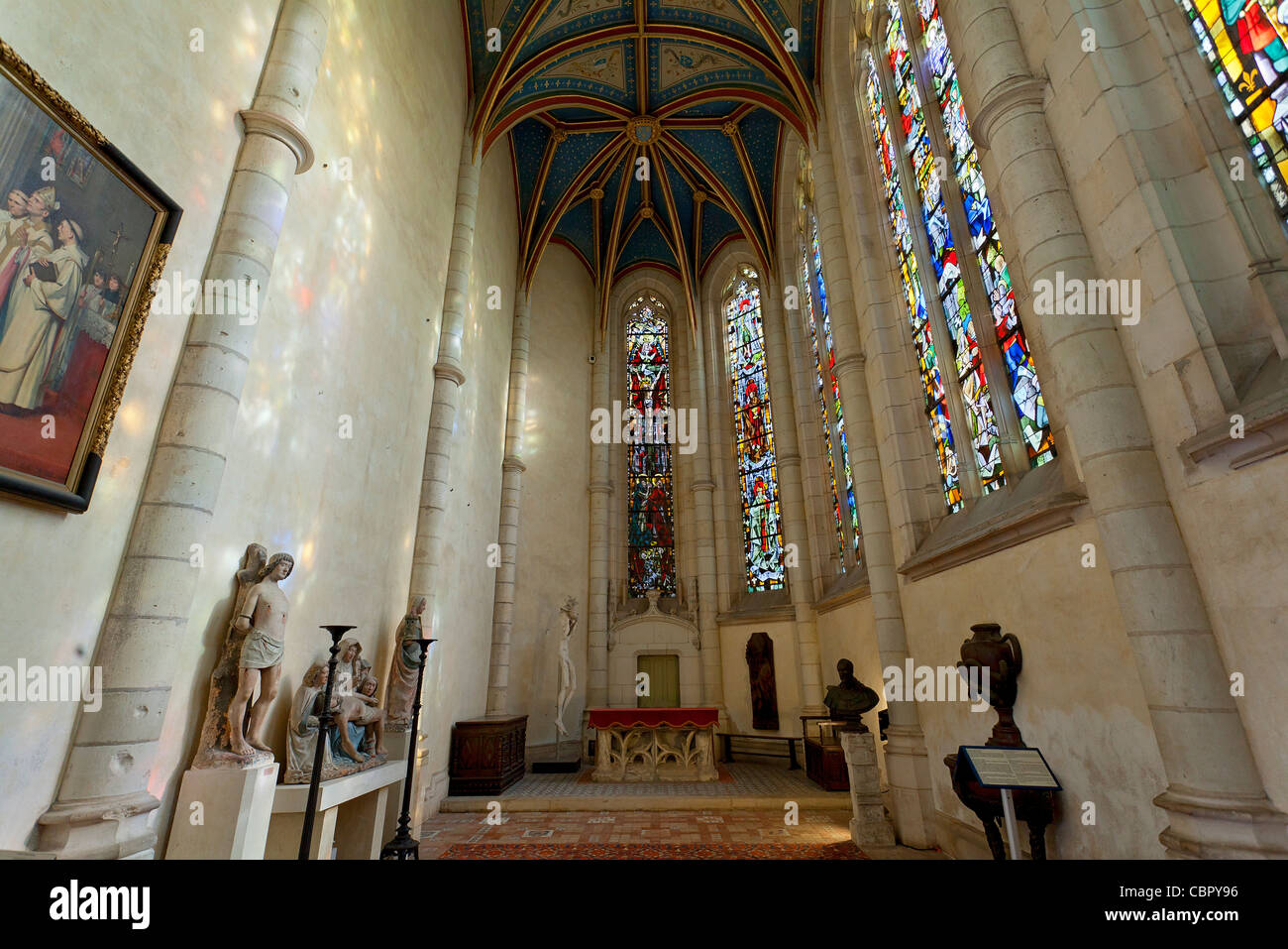 Loire Valley, Chateau de Blois - Stock Image