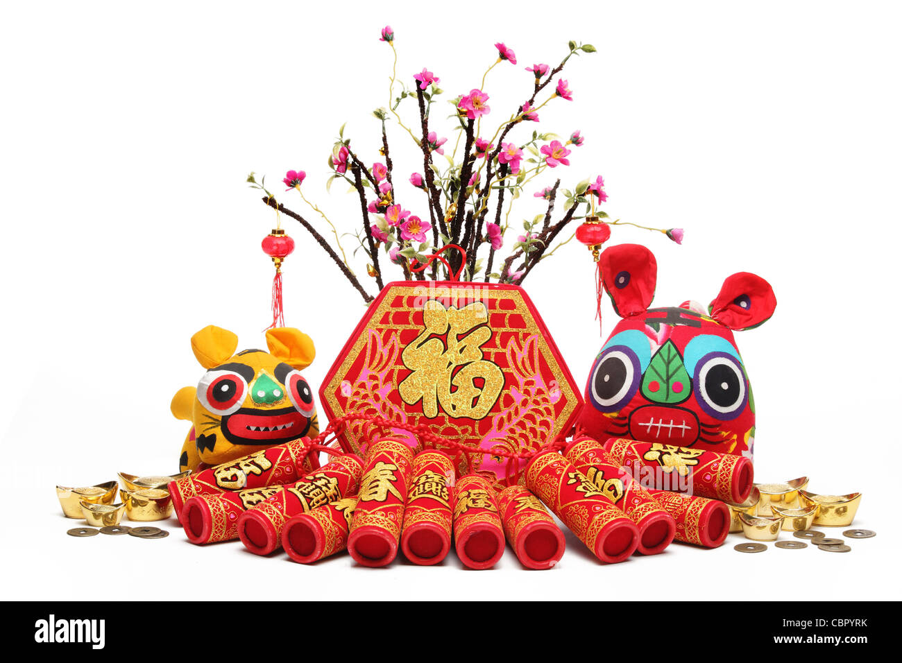 Chinese New Year Decorations--Traditional Handicraft Cloth ...