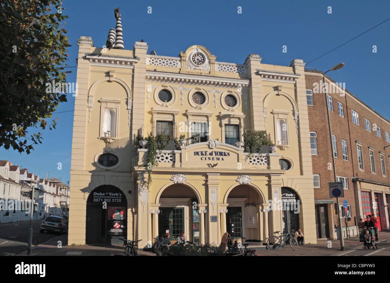 The Duke of York's Picturehouse cinema on Preston Circus. Brighton, UK. - Stock Image