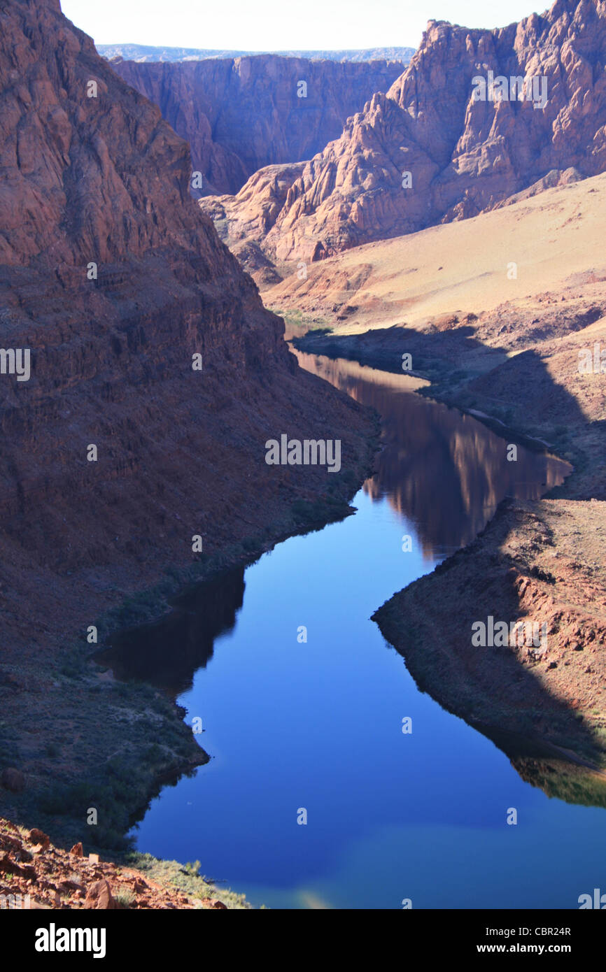Lees ferry stock photos lees ferry stock images alamy reflection of the colorado river near lees ferry as it exits glen canyon stock image publicscrutiny Image collections