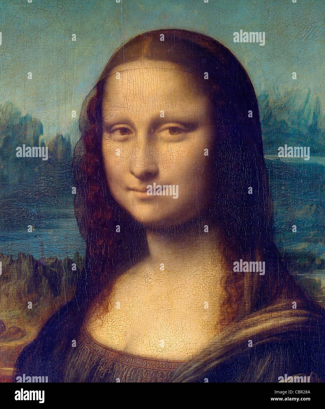 Mona Lisa by Leonardo da Vinci Stock Photo