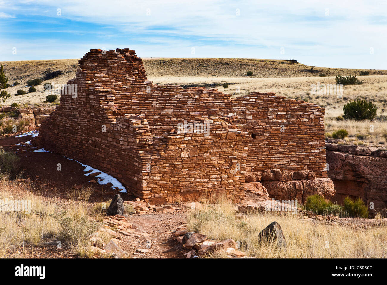 Lomaki Pueblo, Hopi Ruins, Wupaktki National Monument, Arizona - Stock Image