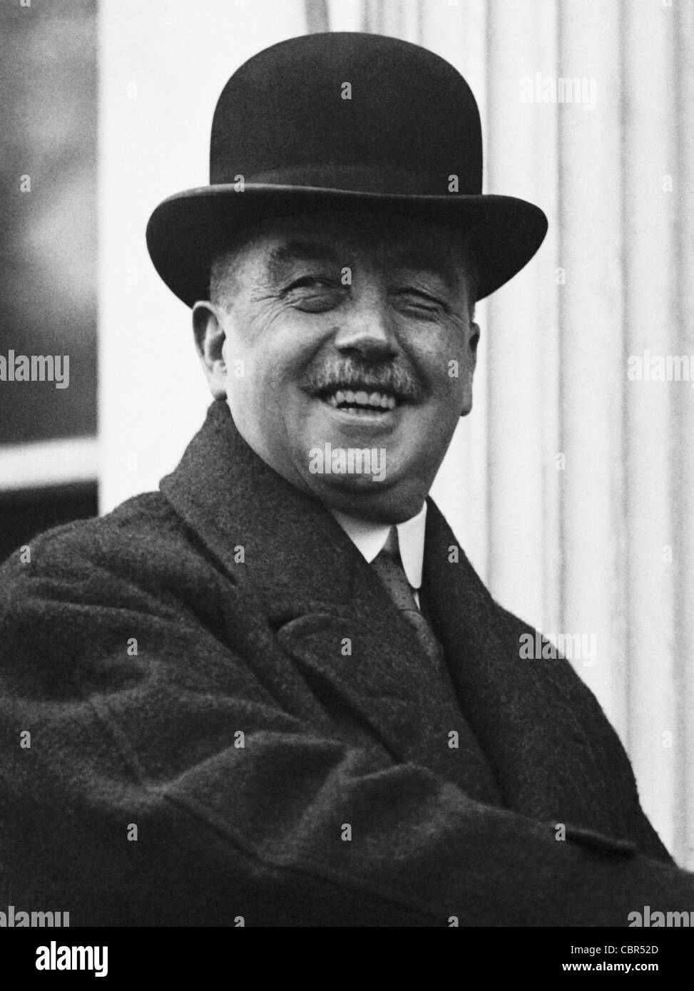 Vintage photo of British Labour politician Arthur Henderson (1863 - 1935) - winner of the Nobel Peace Prize in 1934. - Stock Image