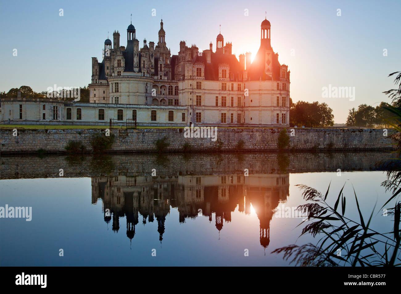 Loire Valley, Chateau de Chambord - Stock Image