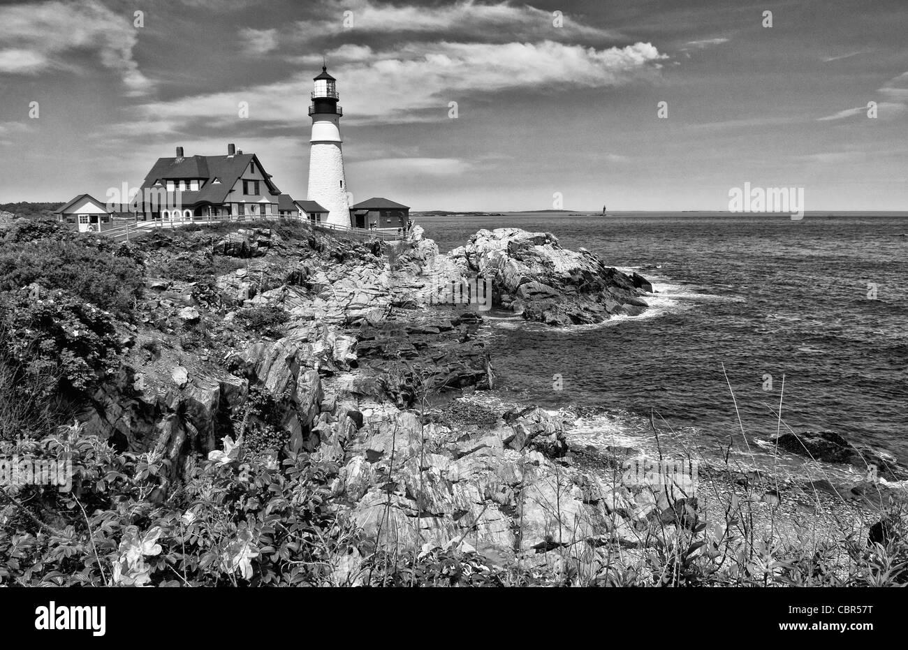 Beautiful scenic Maine in Portland Maine at the Portland