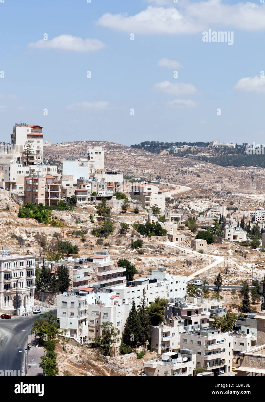Palestin. Bethlehem is believed by most Christians to be the birthplace of Jesus Christ - Stock Image