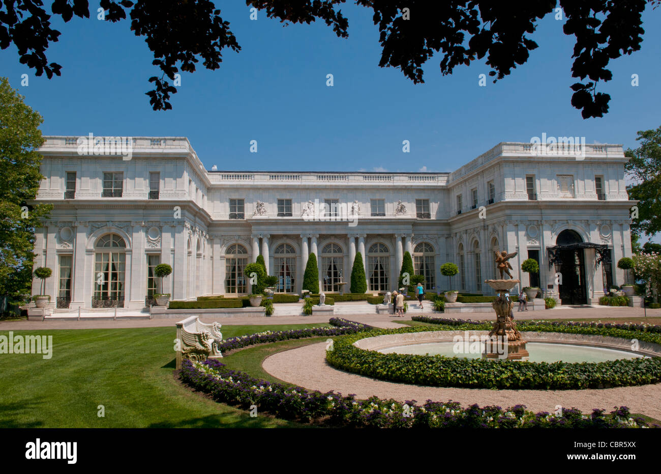 Newport Rhode Island Famous Rosemont Mansion On The Mansions Drive