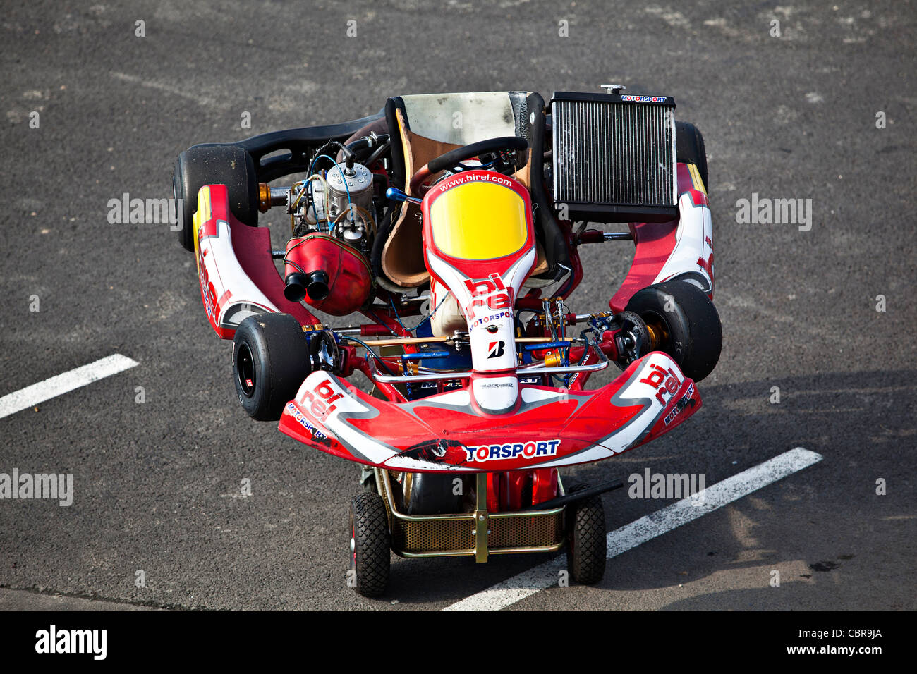 Go Cart Circuit Kartarena Near Cheb On West Border Of The Czech