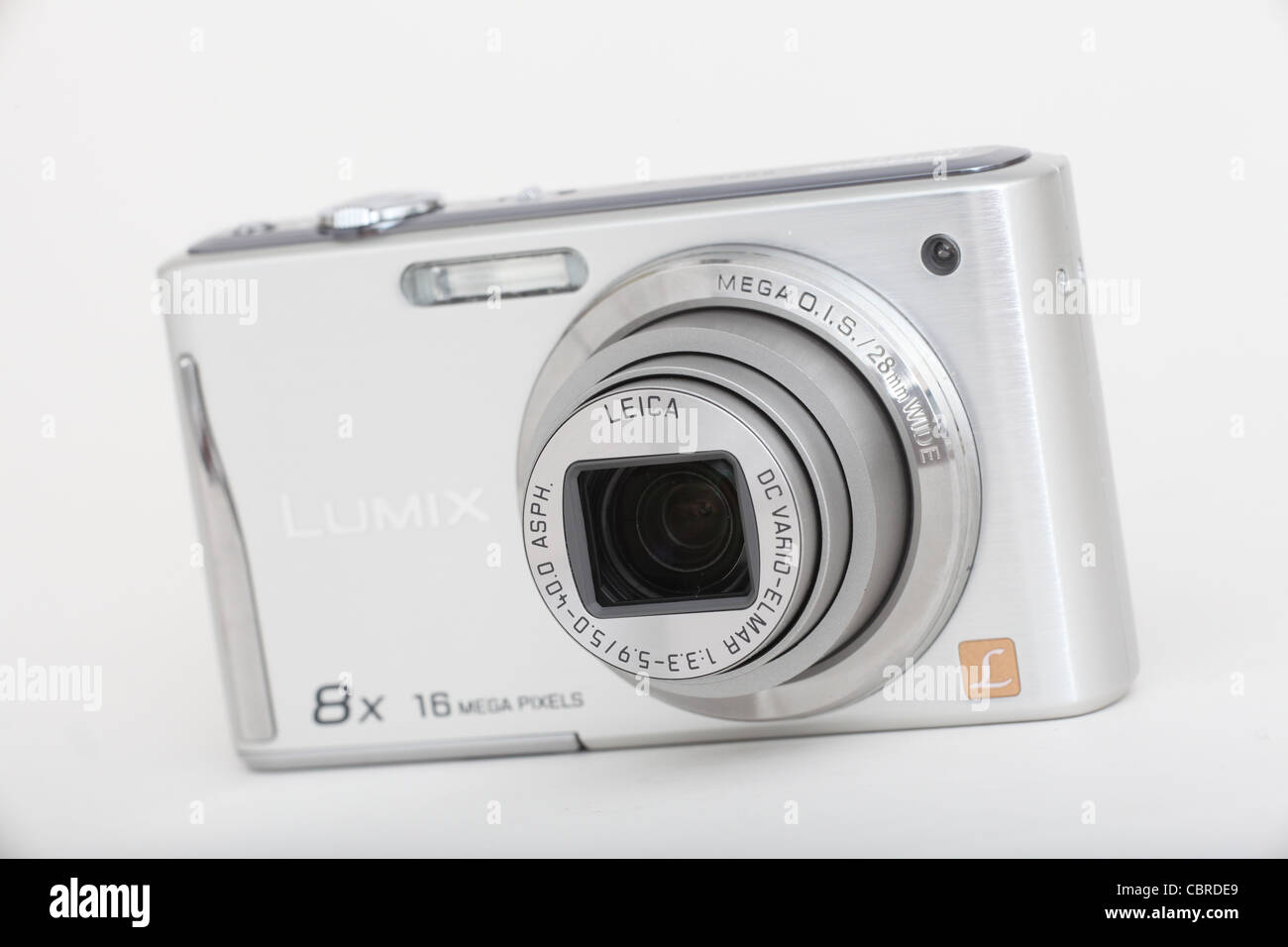 Lumix digital compact camera. Picture by James Boardman. - Stock Image