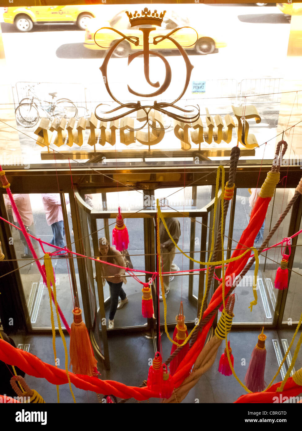 Juicy Couture Store Interior, Fifth Avenue, NYC - Stock Image