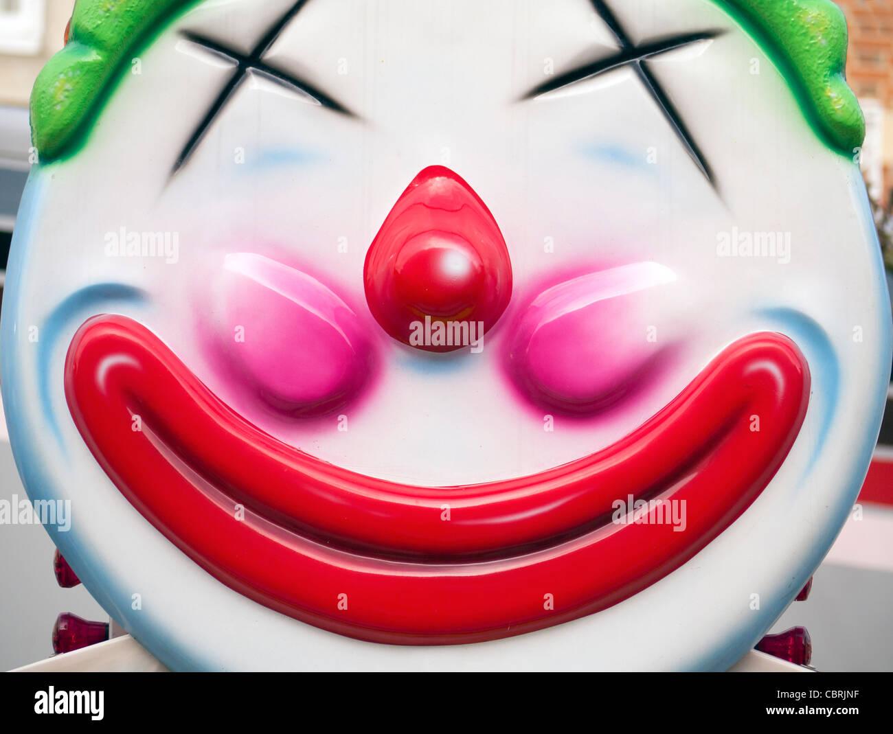 Kitsch clown - Abingdon Street Fair 2011 - Stock Image