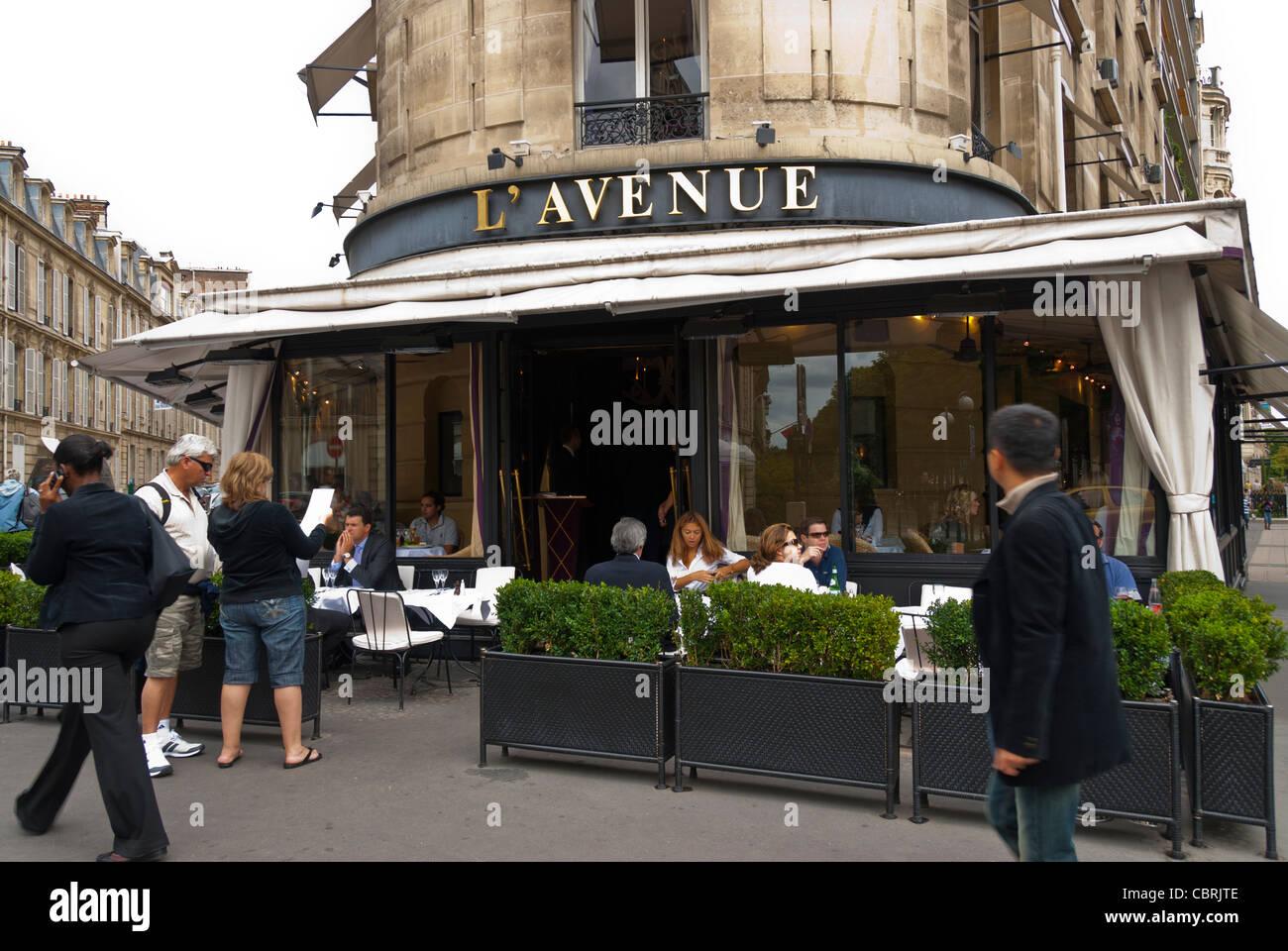 Caf Ef Bf Bd Restaurant Avenue De France Paris