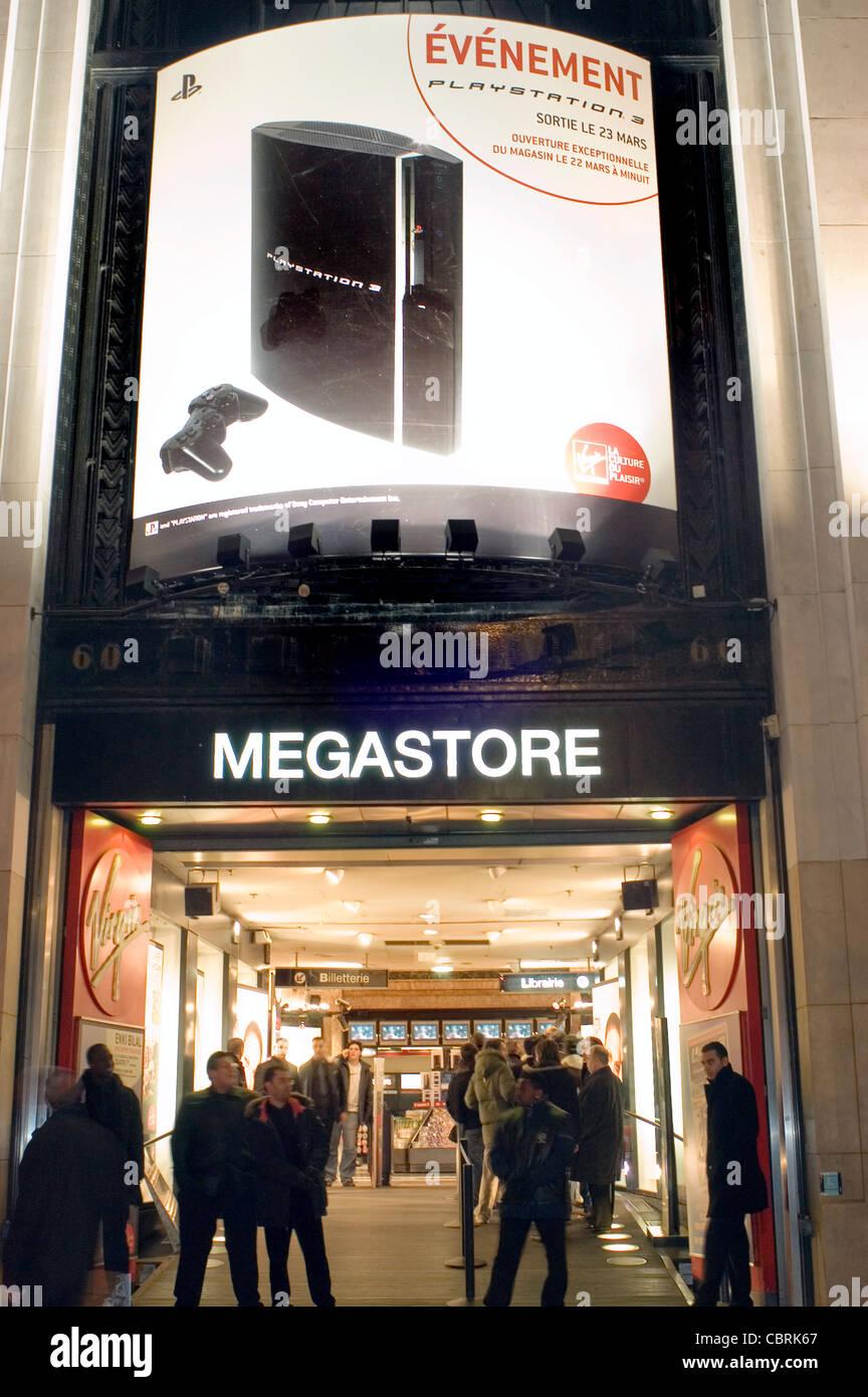 Virgin Megastore Stock Photos & Virgin Megastore Stock