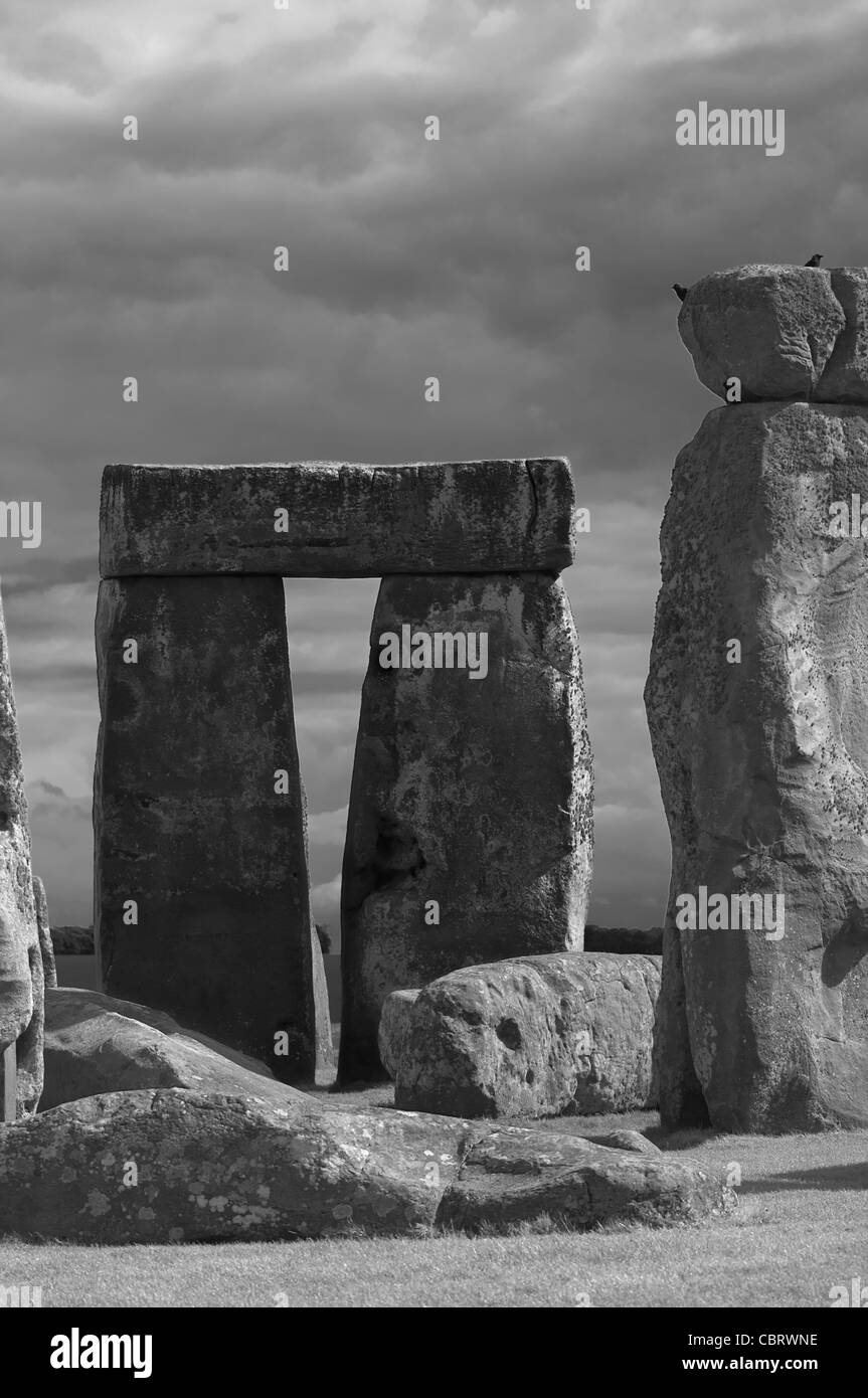 Stonehenge, Wiltshire, England. - Stock Image