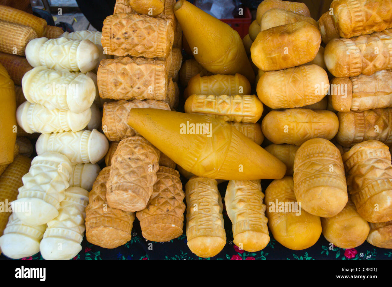 Polish bread rolls Warsaw Poland Europe - Stock Image