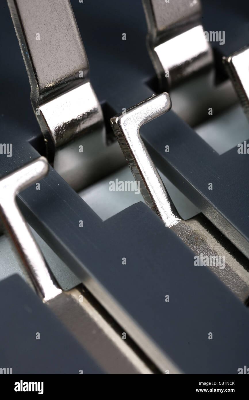 Binding machine - Stock Image