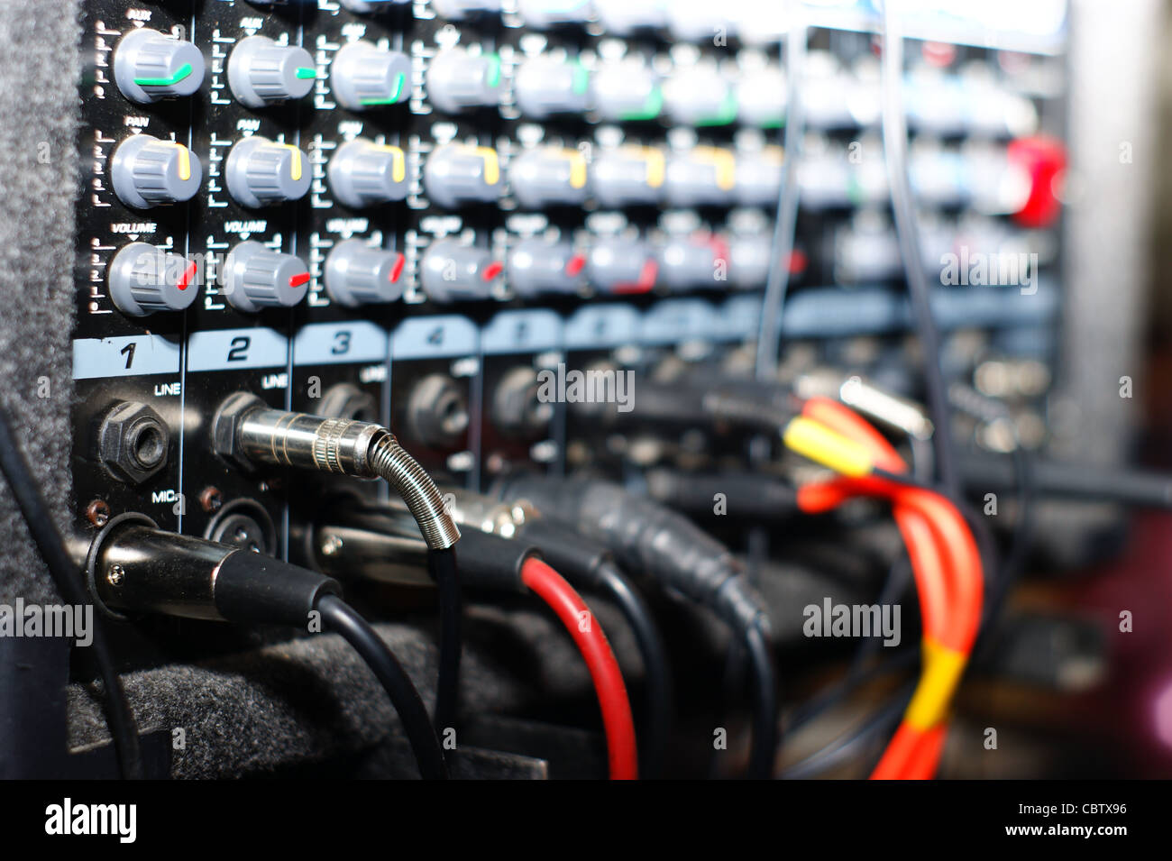 Incredible Mixing Board Detail Music Accessories Stock Photo 41729442 Alamy Wiring Cloud Hisonuggs Outletorg