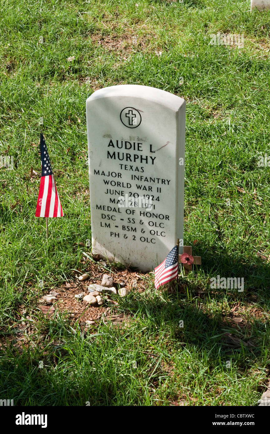 Grave Of Audie Murphy America S Most Decorated Soldier