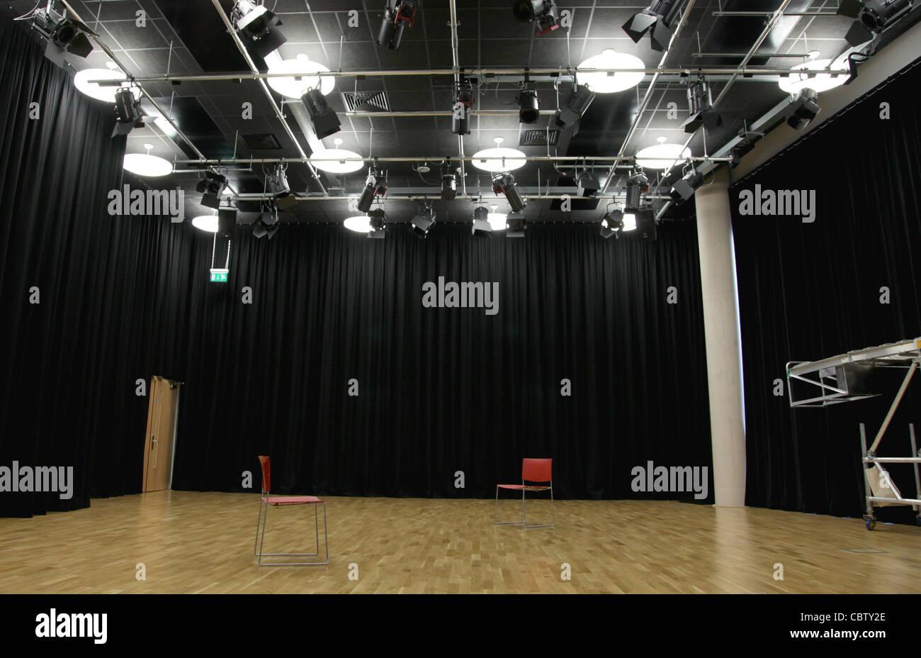 Actor's rehearsal studio - Stock Image
