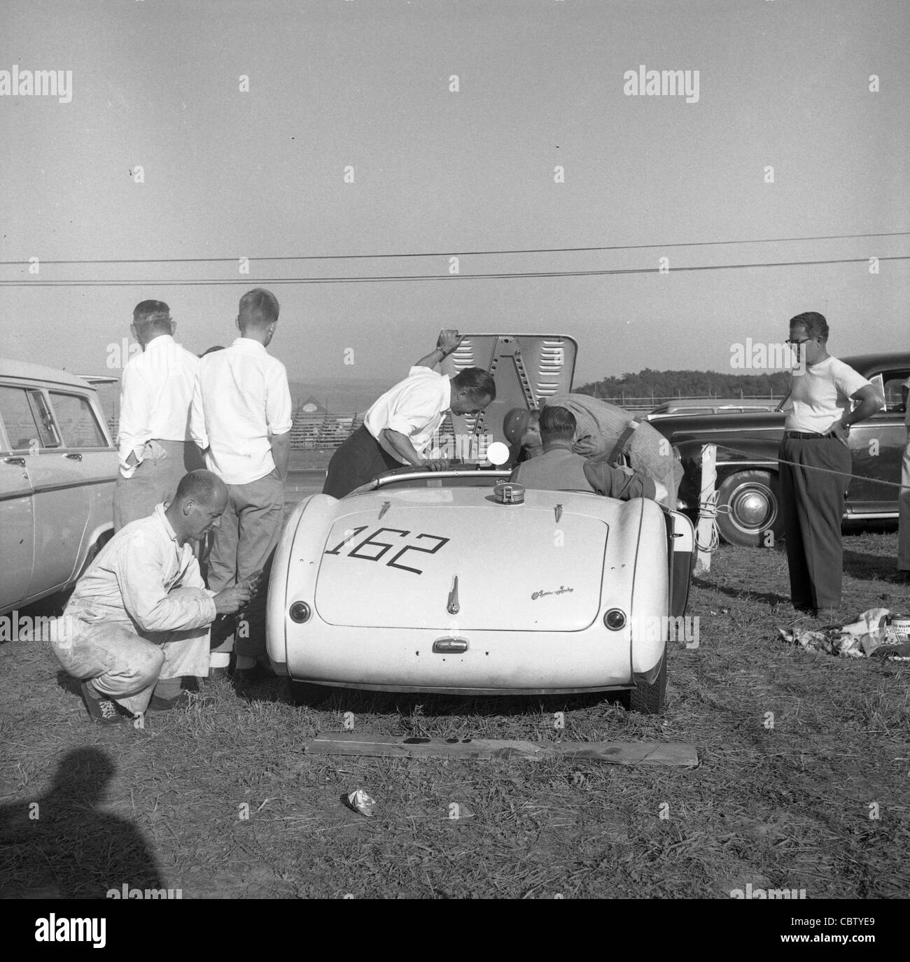 Sports Car Club Of America Races From The Early 1960s Or Late 1950s Stock  Photo: 41730369   Alamy