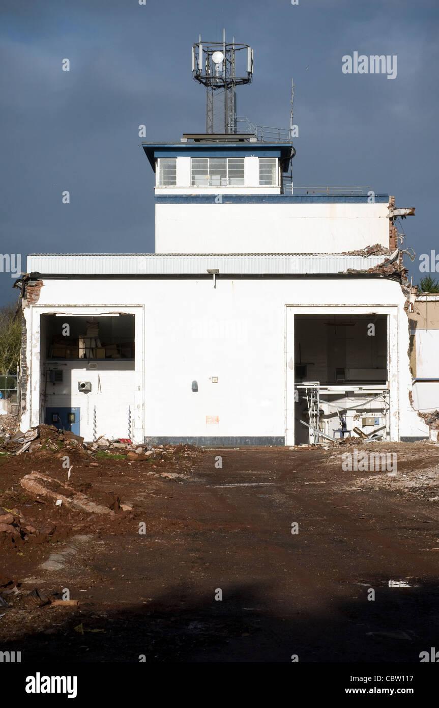 Demolition,industrial,building site,potential, - Stock Image