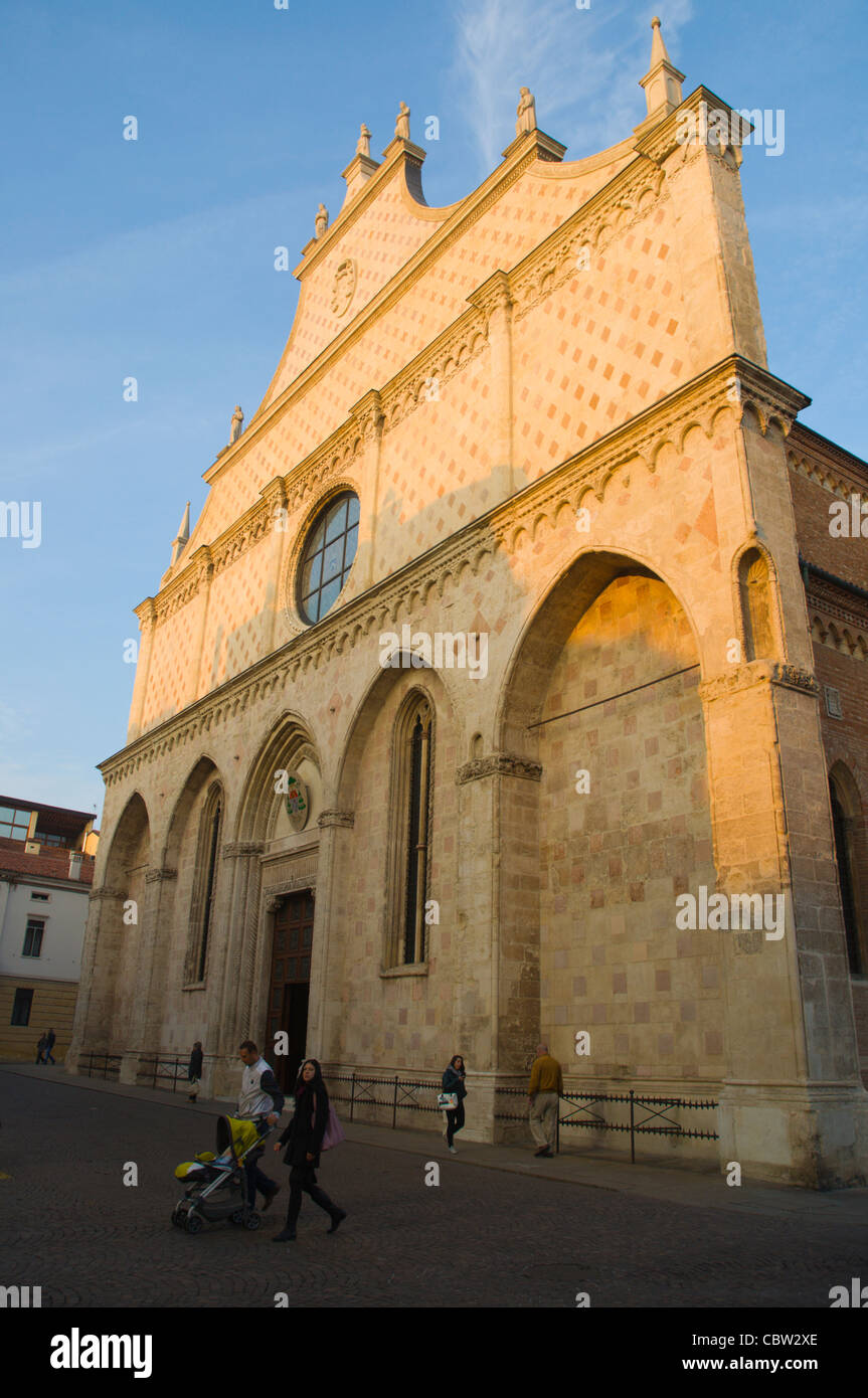 Duomo the cathedral Vicenza the Veneto region northern Italy Europe - Stock Image