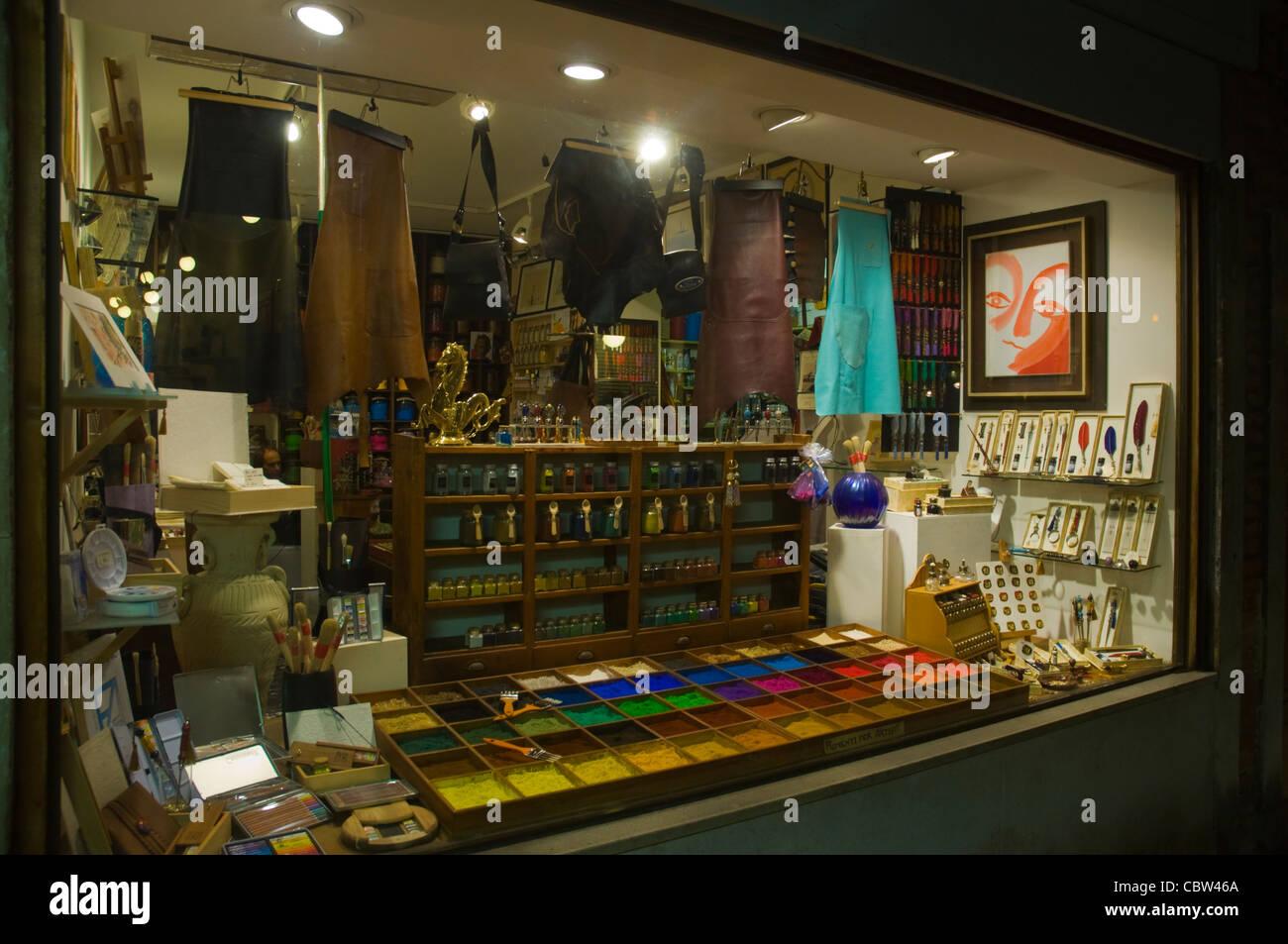Exterior Art Shop Venice Italy Stock Photos & Exterior Art Shop ...
