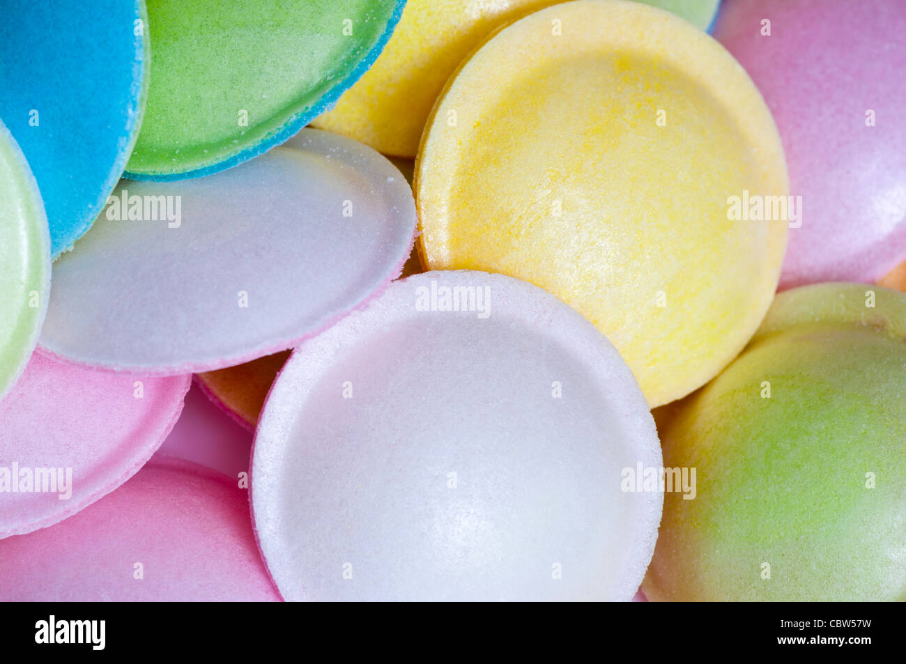 Sherbet Flying Saucers Traditional Sweets - Stock Image