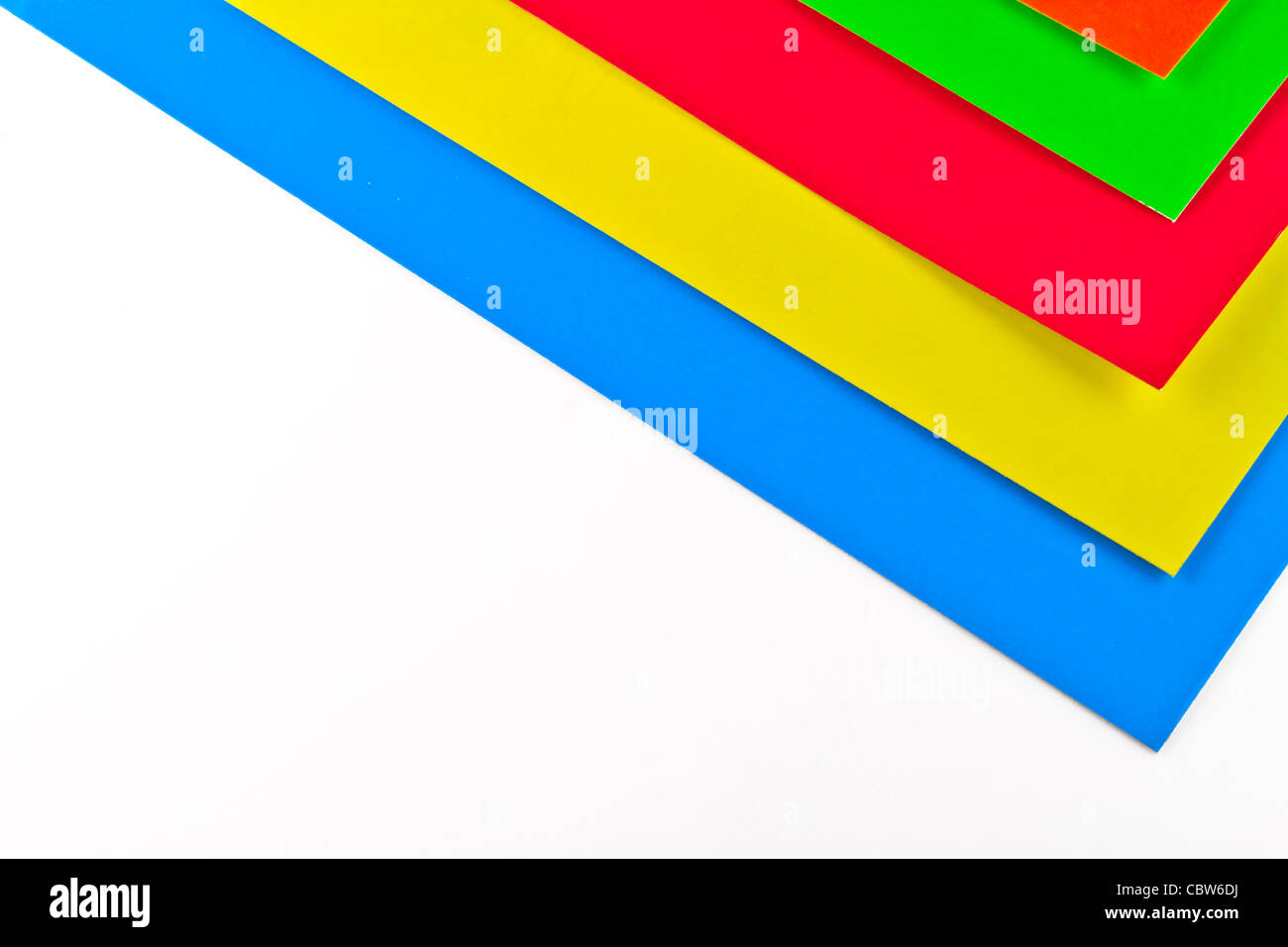 Photo Of Sheets Of A Color Paper Stock Photo 41735838 Alamy