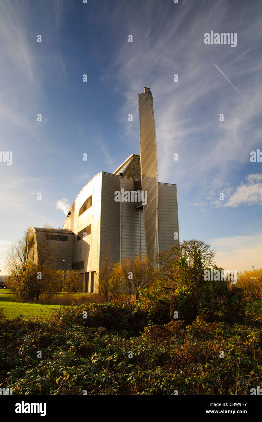 Crossness Sewage Sludge Incinerator - Stock Image