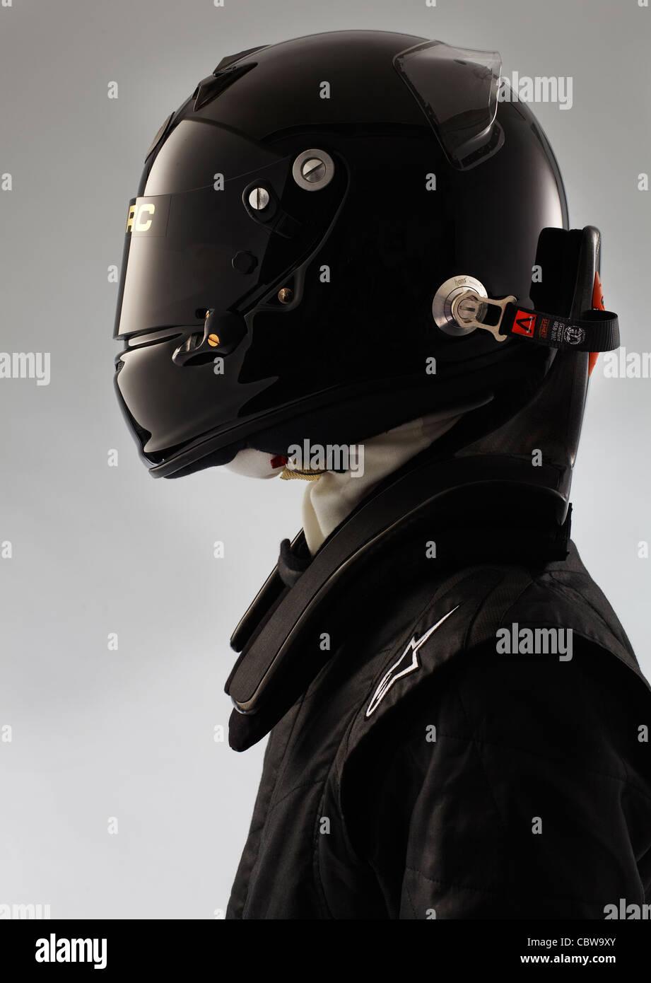 Racing driver - Stock Image