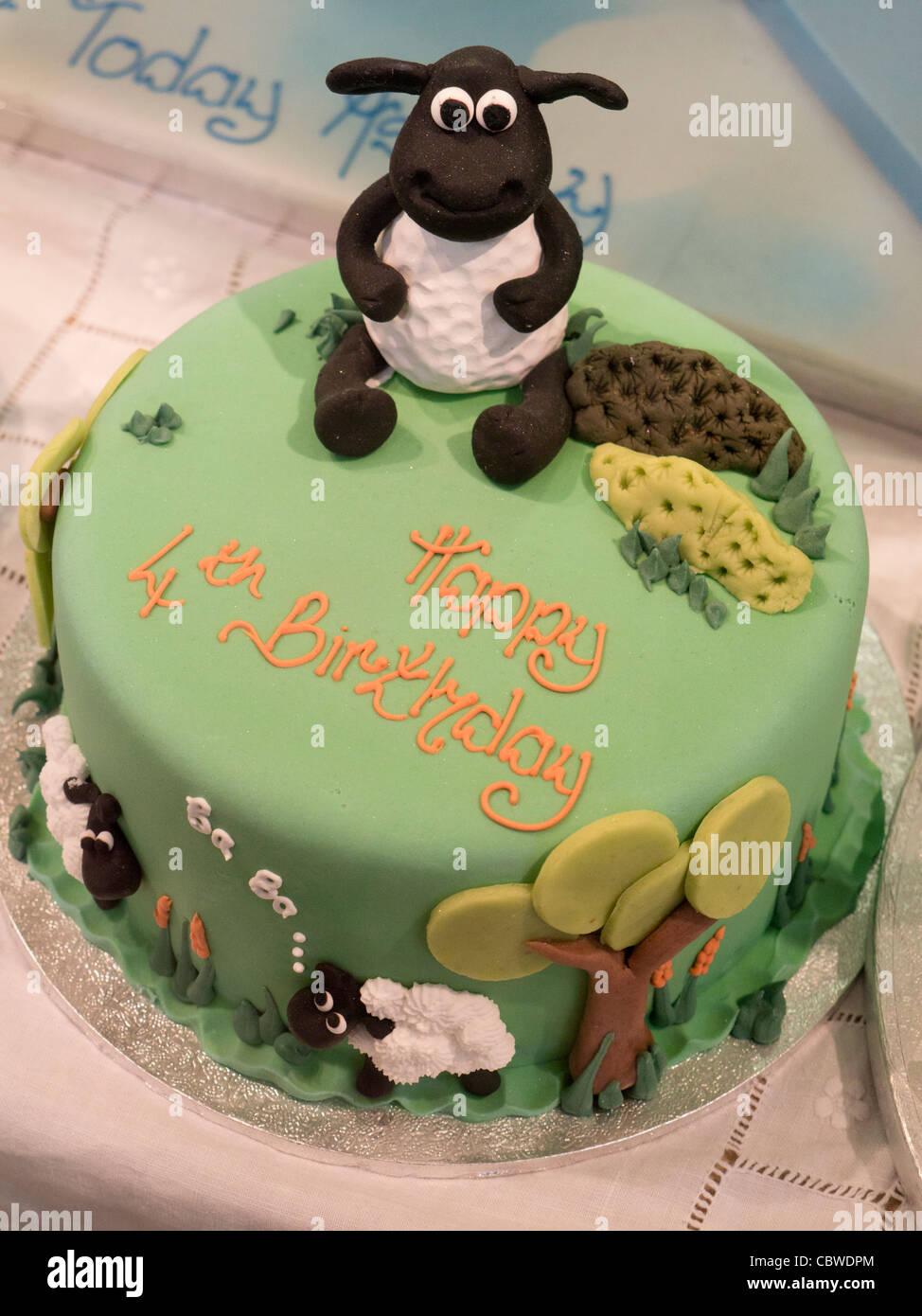 Imaginative Sheep Themed Birthday Cake Oxford Covered Market Stock