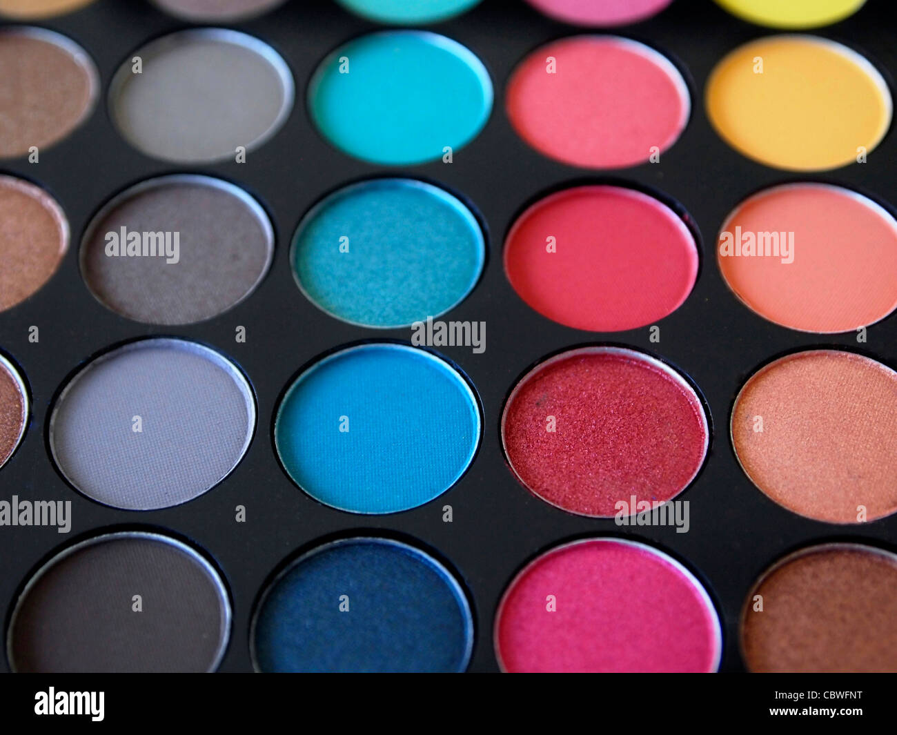 Eyeshadow box - Stock Image