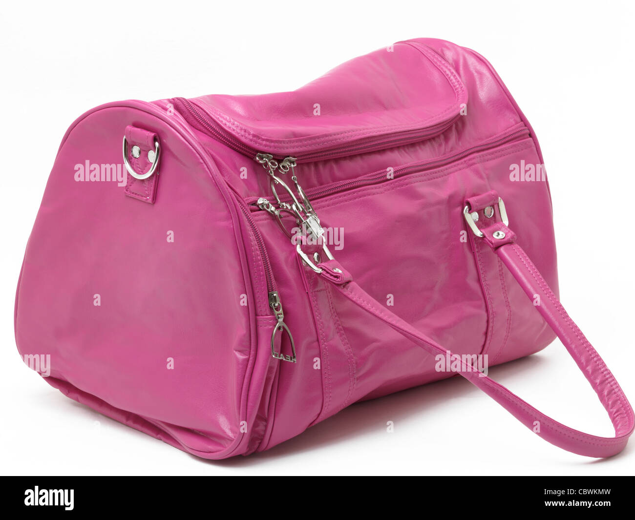 cdba62ef61 Pink Sports Bag Stock Photo  41746233 - Alamy