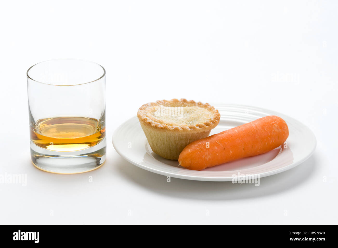 a traditional british custom food offering left on Christmas eve for ...