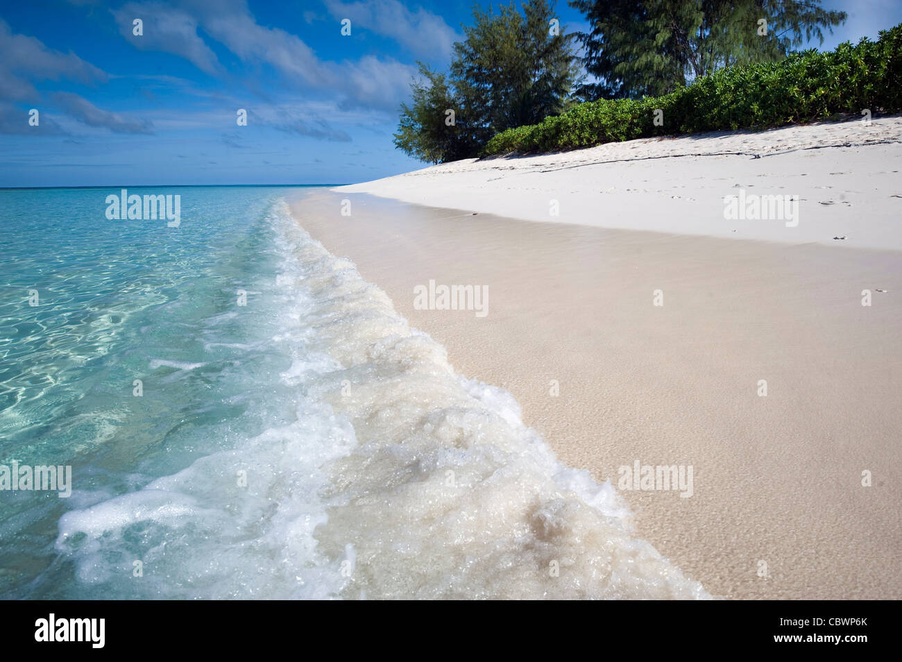 Denis private island, Seychelles - Stock Image